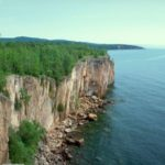 Photo of Lake Superior North Shore. Public Domain from WikiMedia.org