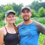 Meet Kyle Thom and Alli Wenman of Roots Down Community Farm