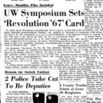 Madison, 1967-Performances and Interviews On Campus