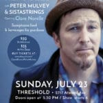 """""""Jammin' for Refugees"""" w/ Peter Mulvey & Sistast..."""