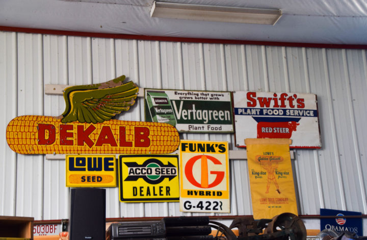 Old crop signs