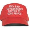 Book cover from Why Bad Governments Happen to Good People