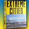 "Image of book cover of Ashley Dawson's new book ""Extreme Cities: The Peril and Promise of Urban Life in the Age of Climate Change"""