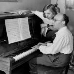 Photo of Kurt Weill and Lotte Lenya at home (1942). From wikimedia.org