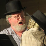 Photo of The Puppet staged reading from Madison Theatre of Madison FaceBook page.