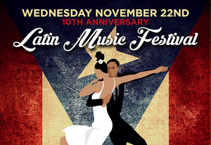 10th Annual Latin Music Fest is a Puerto Rico Hurricane Relief Benefit