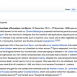 Wikipedia Edit-A-Thon: Women in Technology