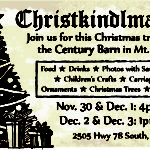 Christkindlmarket at Century Barn