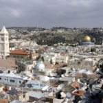 Jerusalem as the proclaimed capital of Israel