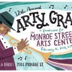 12th Annual Arty Gras: A Fundraiser for Monroe Street Arts Center