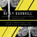 Author Reading & Book Signing: Kelly Barnhill