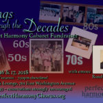 Songs through the Decades: A Perfect Harmony Cabaret Fundraiser