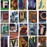 Exhibition: Robert Cottingham — An American Alphabet