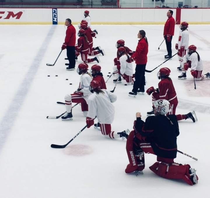Game On: UW Women's Hockey Team Seeks Vengeance on Ice