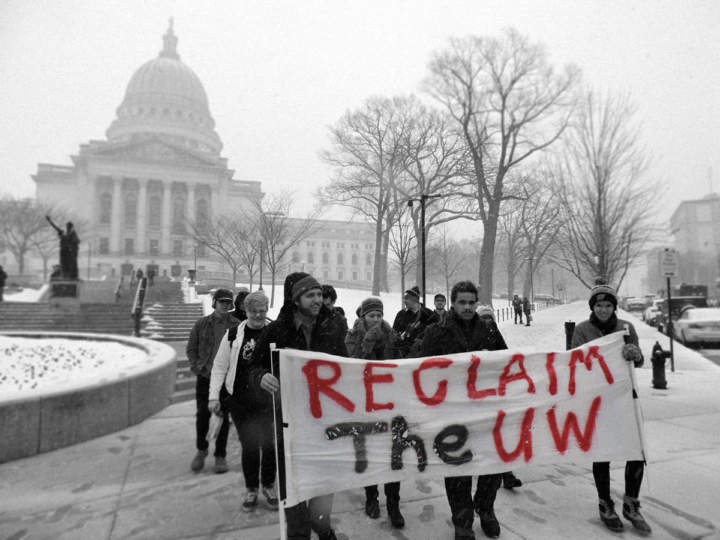 UW Students Demand More Funding For Small Campuses