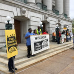The Poor People's Campaign Holds a Protest at the Capitol
