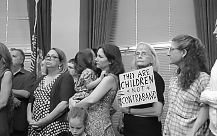 State Reps, Community Protest Inhumane Family Separation Policy, Walker Deploys National Guard