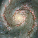 Hydrogen cloud found in Whirlpool Galaxy