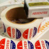 Photo of 'I voted' stickers from cityofmadison.com/clerk