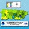 Image representing Hurricane Maria rainfall amounts in Puerto Rico from NOAA.
