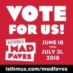Vote Early, Vote WORT!!