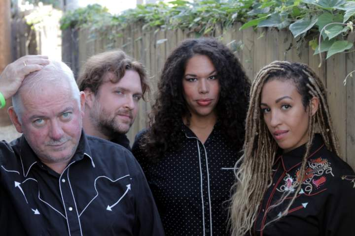 Jon Langford's Four Lost Souls at Central Park Sessions