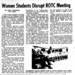 Madison In The Sixties: September – New UW Chancellor and an ROTC Funeral