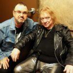 Steve Priest of SWEET shows support for listener sponsored radio WORT-...