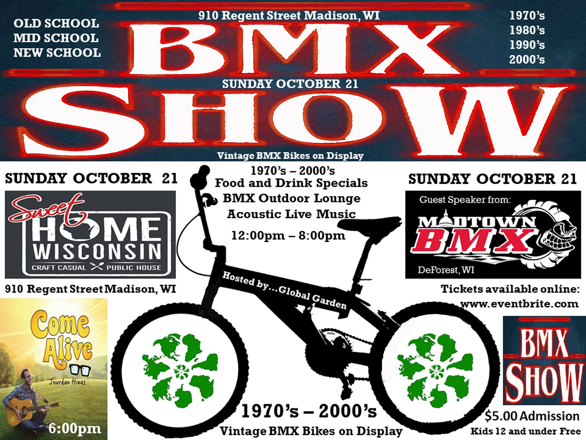 Vintage BMX Bike Show featuring Jourdan Hines Music - WORT 89 9 FM